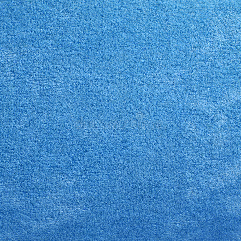 蓝色地毯纹理 免版税库存照片