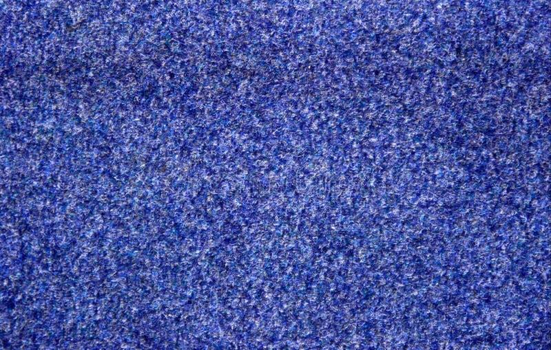 蓝色地毯 库存照片