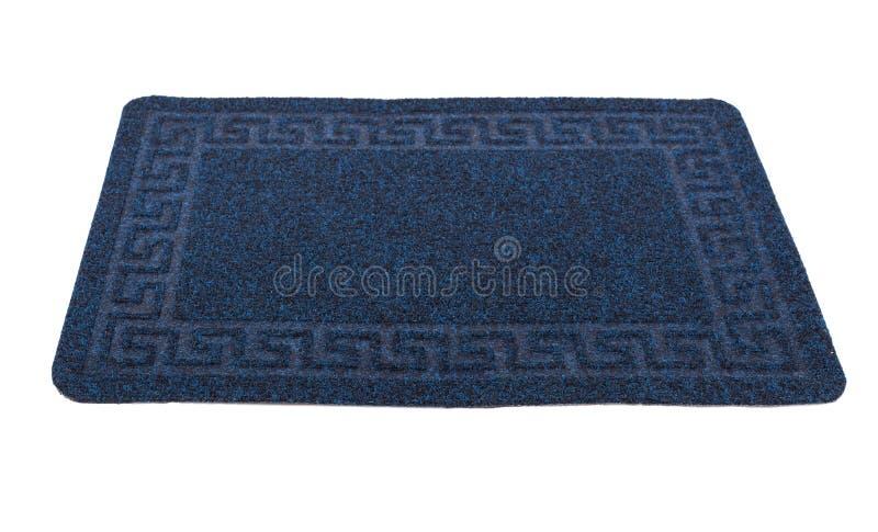 蓝色地毯 库存图片