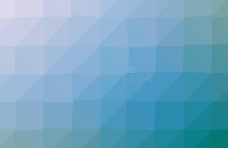 蓝色多角形例证,包括三角 o 三角设计 库存例证