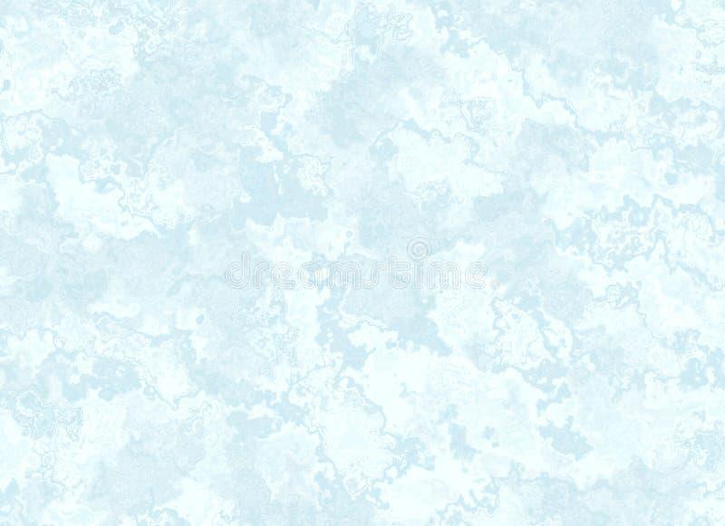 蓝色大理石纹理。轻的样式 库存例证