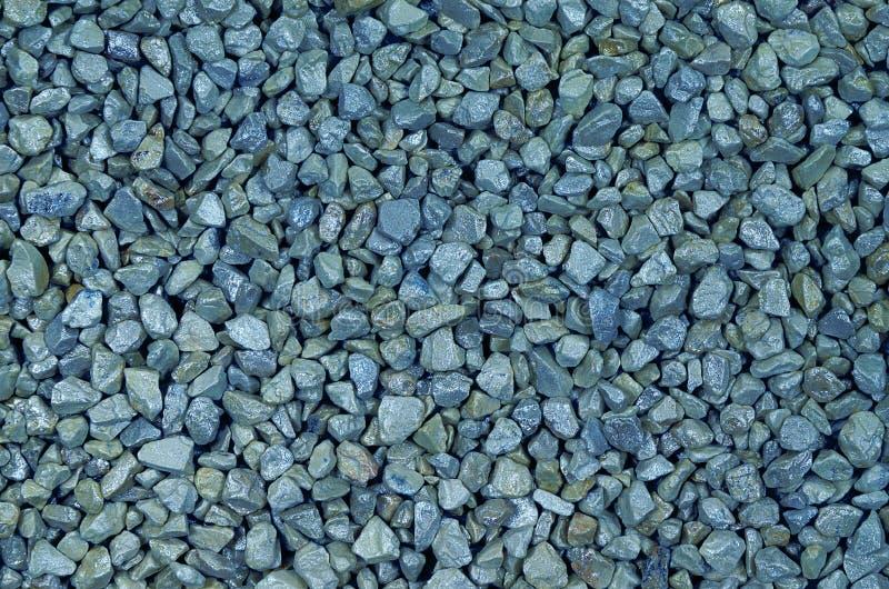 蓝色小卵石 免版税库存照片