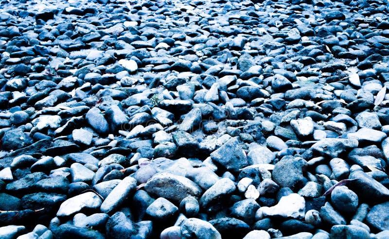 蓝色岩石 免版税库存图片