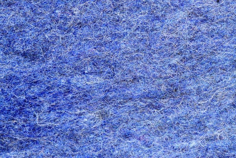 蓝色布料 免版税库存照片