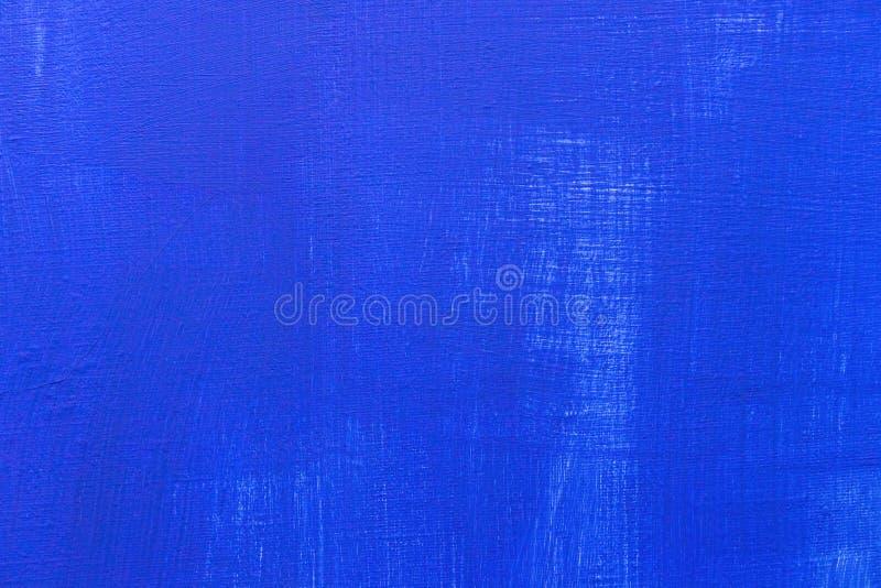 蓝色帆布纹理背景 库存照片