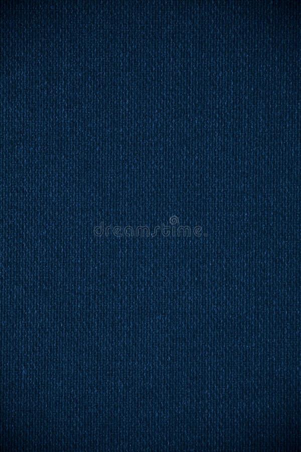 蓝色帆布背景 免版税图库摄影