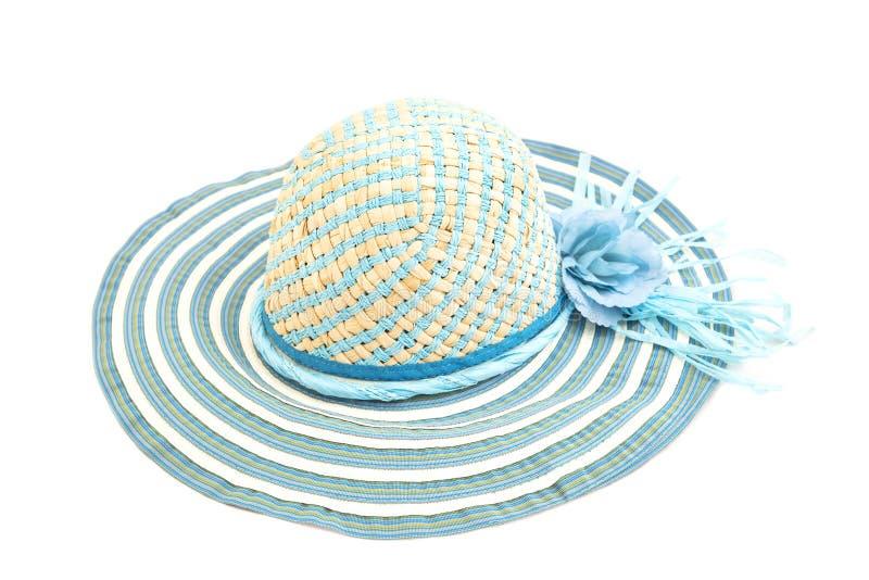 蓝色帽子 图库摄影