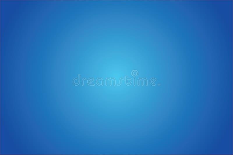 蓝色弄脏梯度抽象背景摘要 库存照片