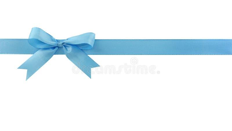 蓝色弓 免版税图库摄影