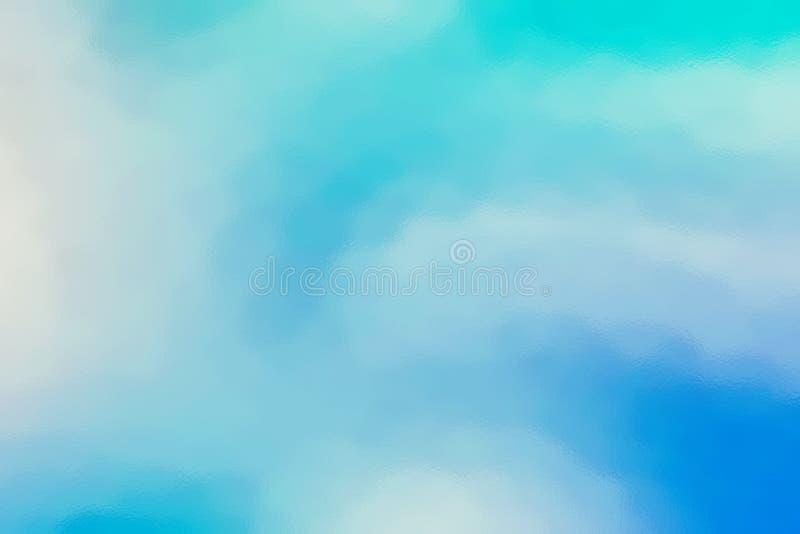 蓝色抽象玻璃纹理背景或墙纸,设计样式模板 库存例证