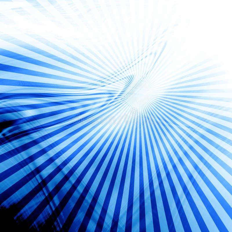 蓝色抽象背景 皇族释放例证