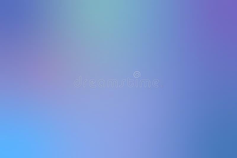 蓝色抽象迷离背景 库存例证
