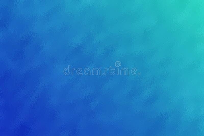蓝色抽象玻璃纹理背景或样式,创造性的设计模板 免版税库存照片