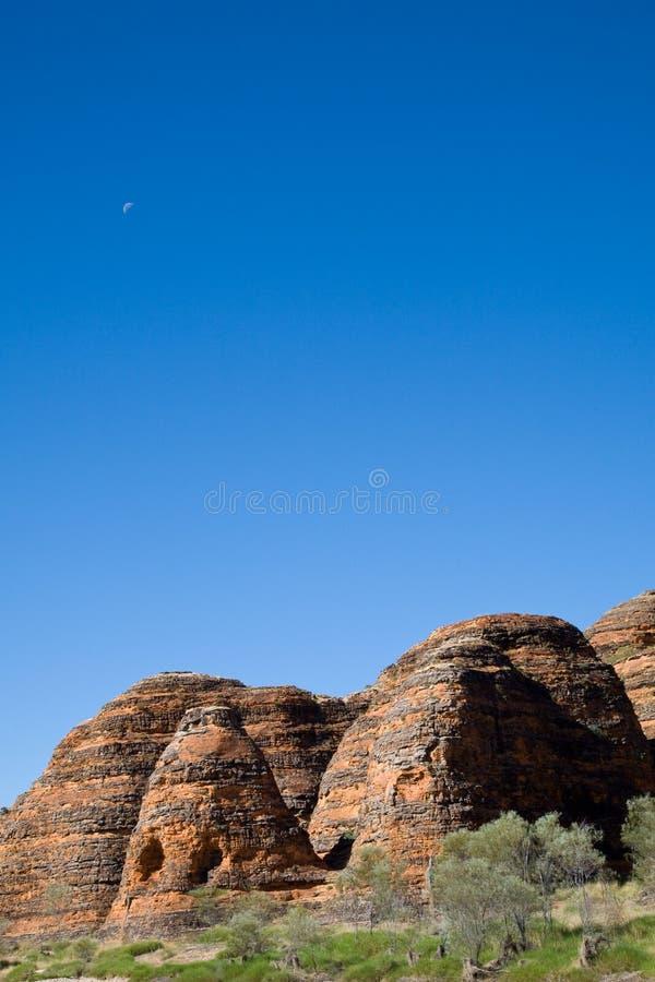 蓝色拙劣的工作天空 免版税图库摄影