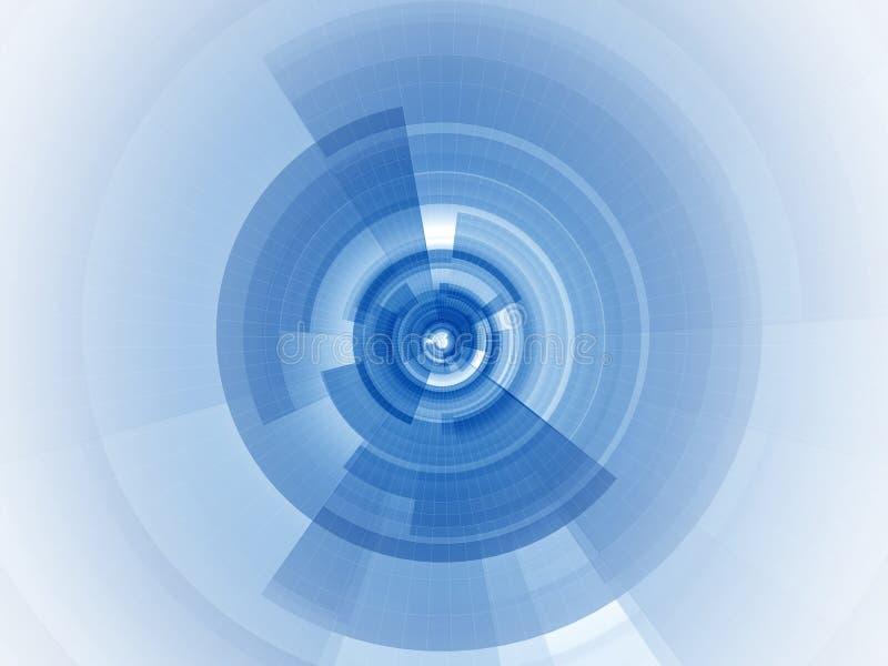 蓝色数字式重点 皇族释放例证