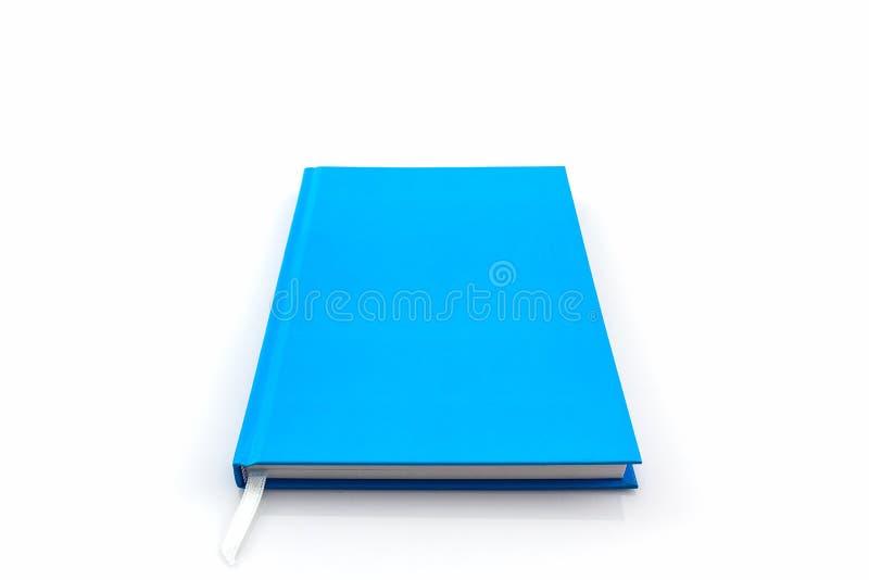 蓝色日志书 库存照片