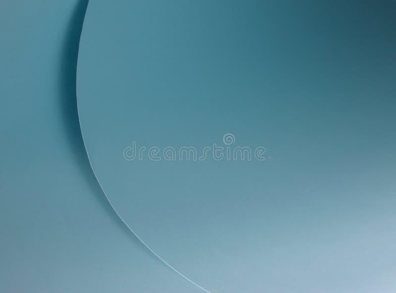 蓝色曲线 免版税图库摄影