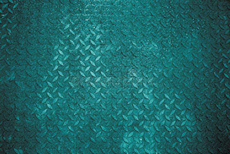 蓝色有绿色背景 免版税库存图片