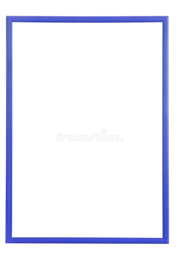 蓝色木制框架 图库摄影