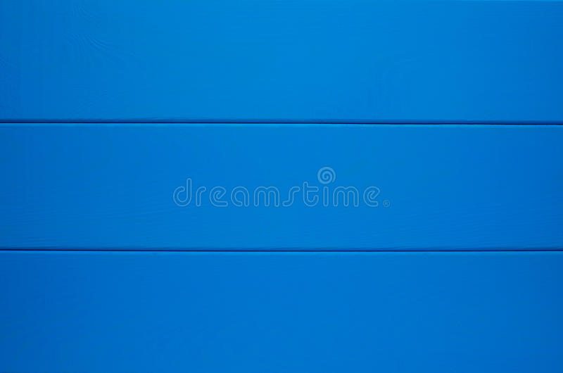 蓝色木纹理背景 库存照片