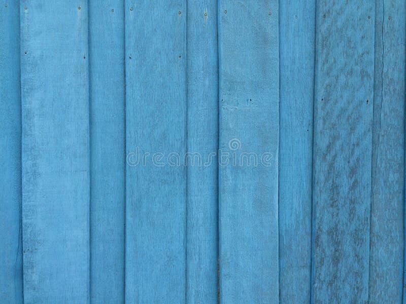 蓝色木背景 图库摄影