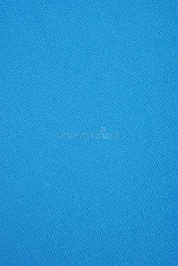 蓝色材料 免版税库存照片