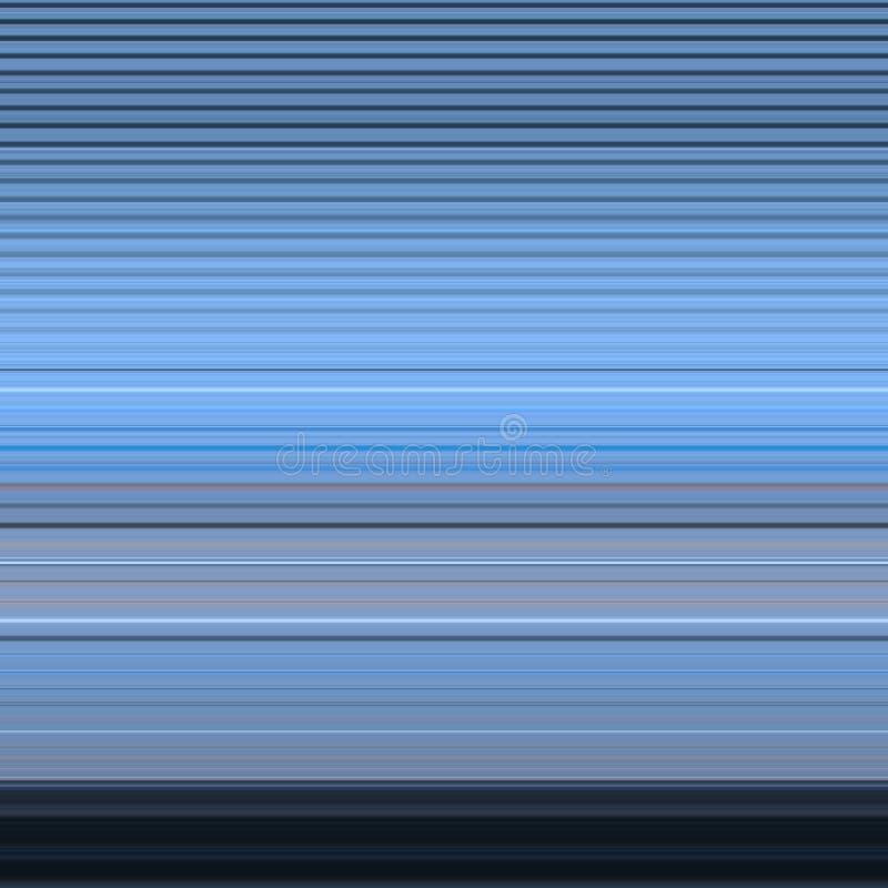 蓝色条纹 向量例证