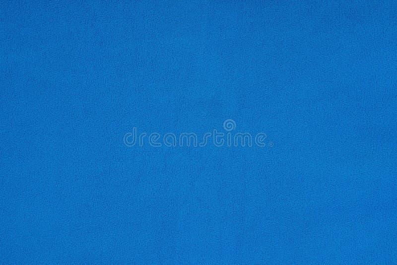 蓝色极性羊毛纹理 图库摄影