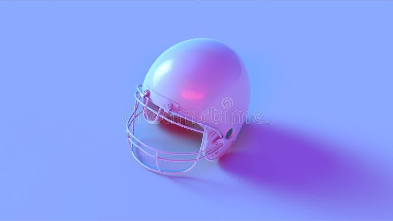 蓝色桃红色盔甲 免版税库存图片