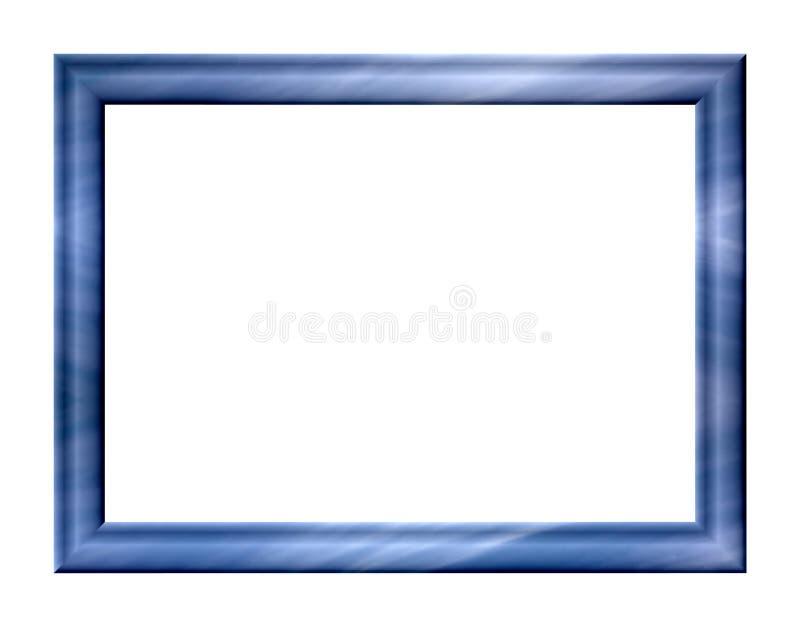 蓝色框架 库存照片