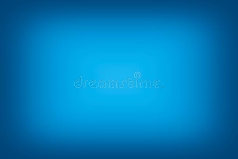 蓝色梯度摘要背景摘要 免版税库存照片
