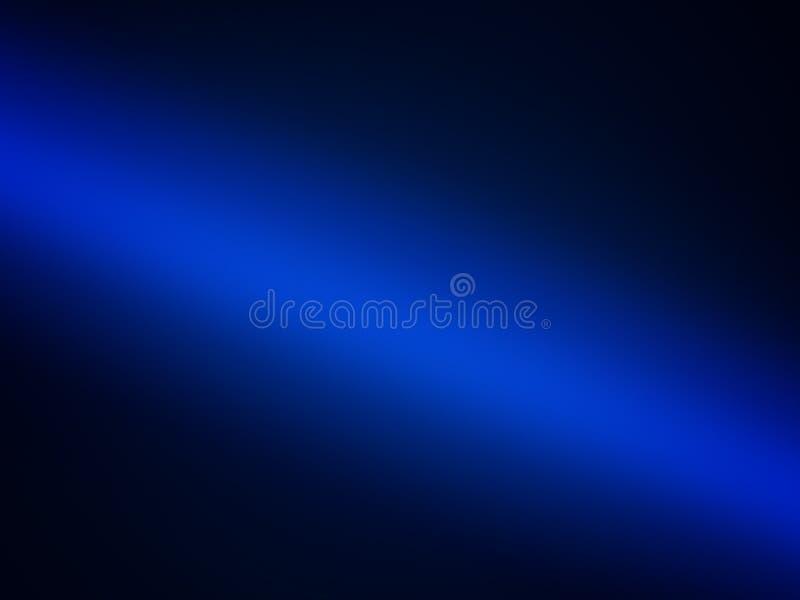 蓝色梯度背景,深水的抽象例证 库存例证