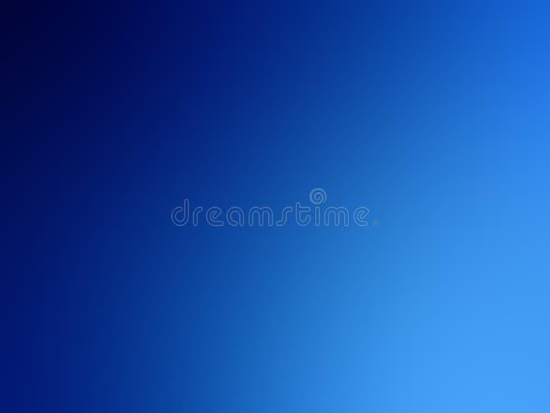 蓝色梯度背景,深水的抽象例证 向量例证