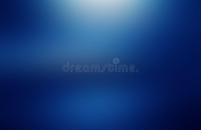 蓝色梯度背景 免版税库存图片