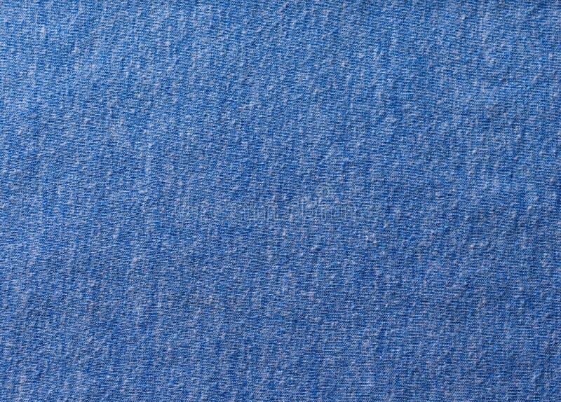 蓝色棉织物 库存图片