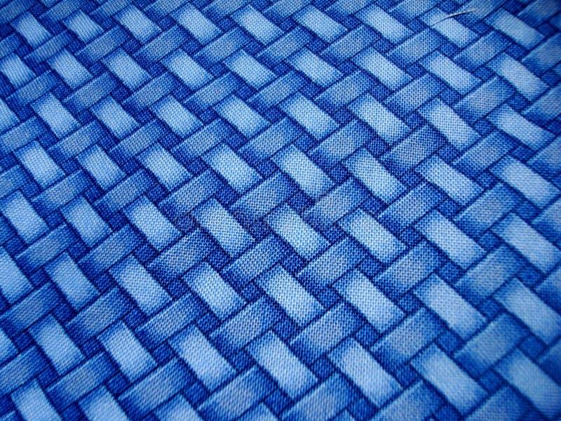 蓝色横穿模式 库存例证
