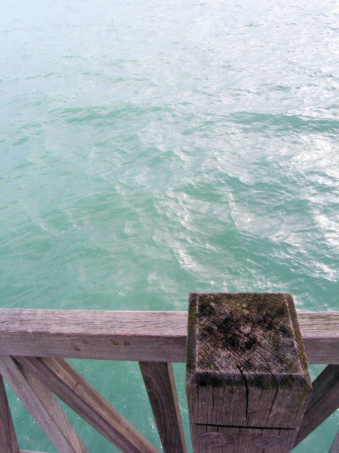 蓝色死水 库存照片