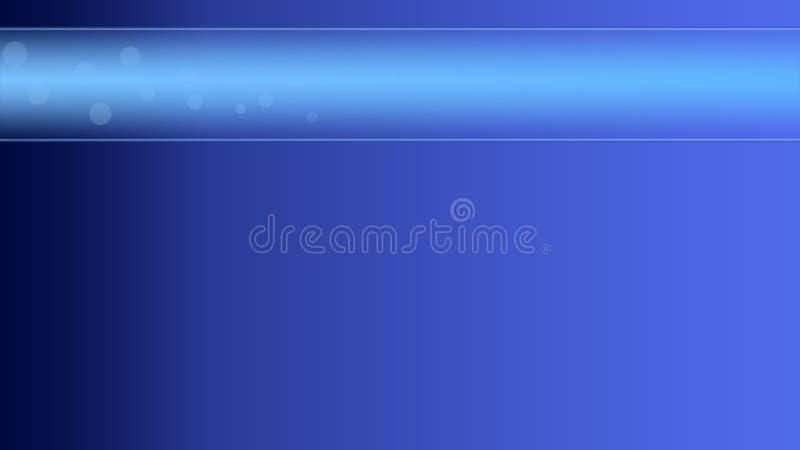 蓝色泡影(宽银幕) 免版税库存图片