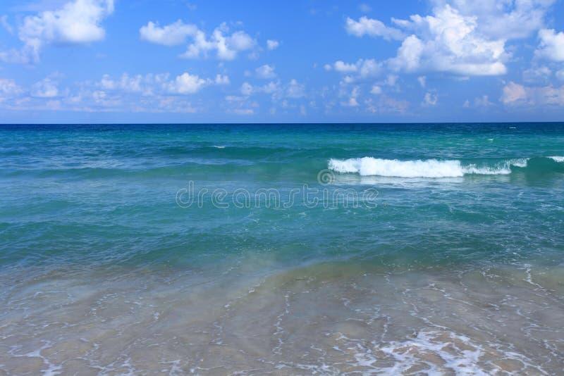 蓝色海洋 库存照片