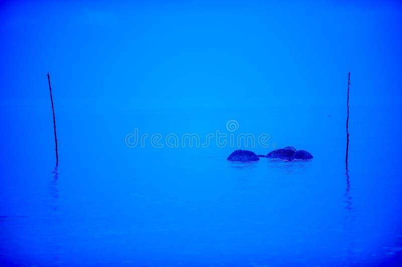 蓝色海运 图库摄影