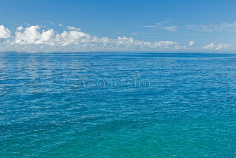 蓝色深海 免版税库存图片