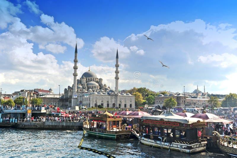 蓝色清真寺,伊斯坦布尔 图库摄影