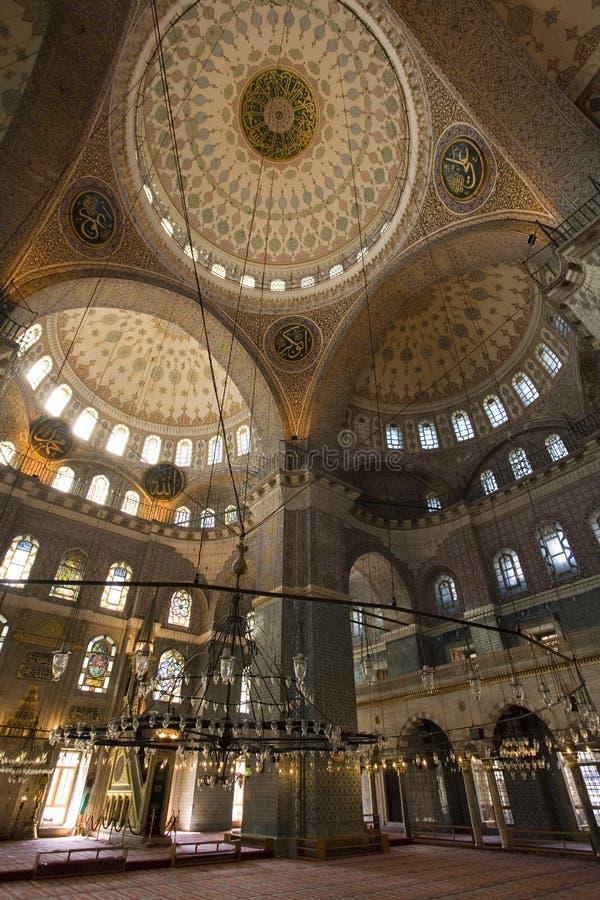 蓝色清真寺-伊斯坦布尔-土耳其 免版税库存图片
