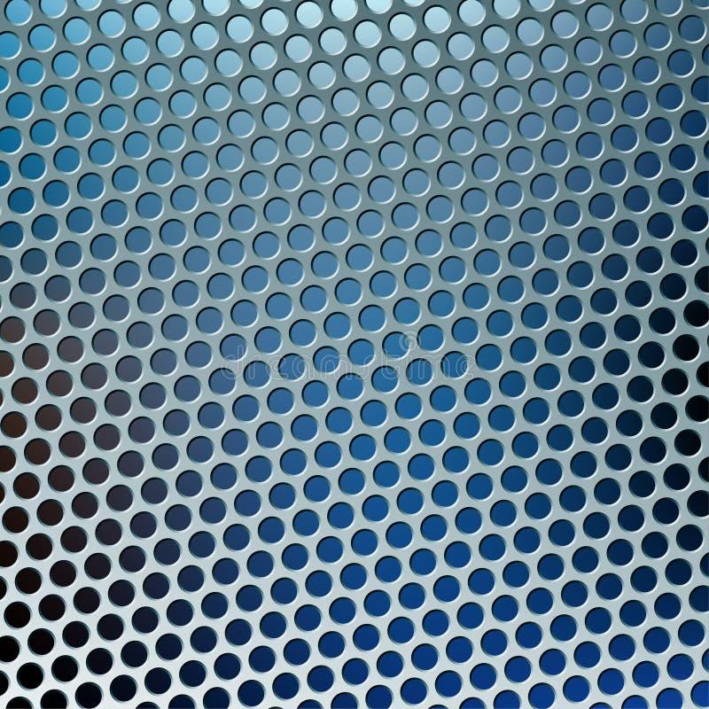 蓝色漏洞金属 皇族释放例证