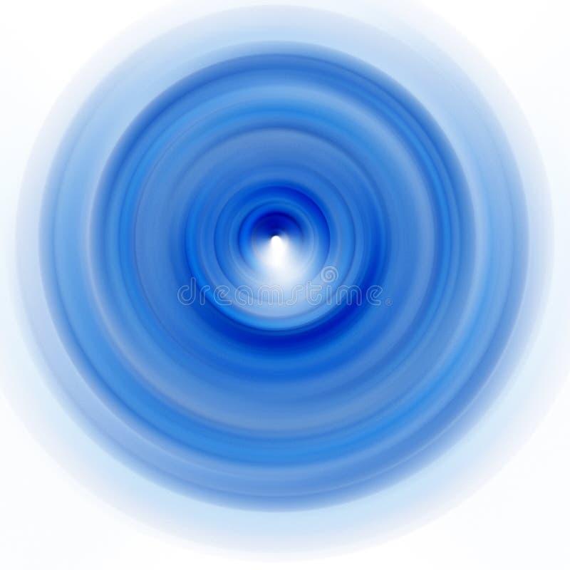 蓝色牌照空转 向量例证