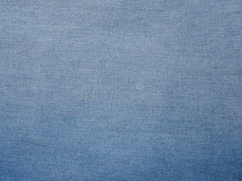 蓝色牛仔布斜纹布 库存图片