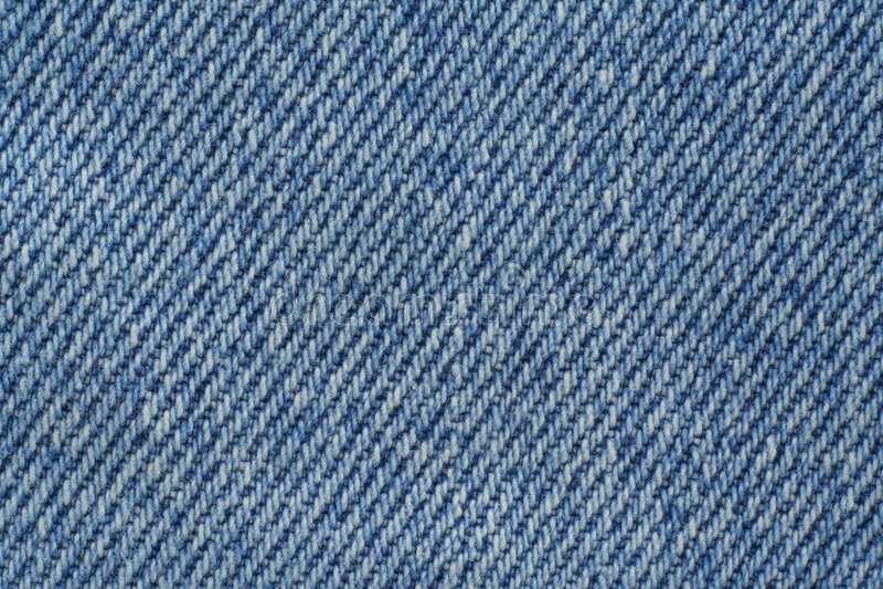 蓝色牛仔布纹理 库存图片