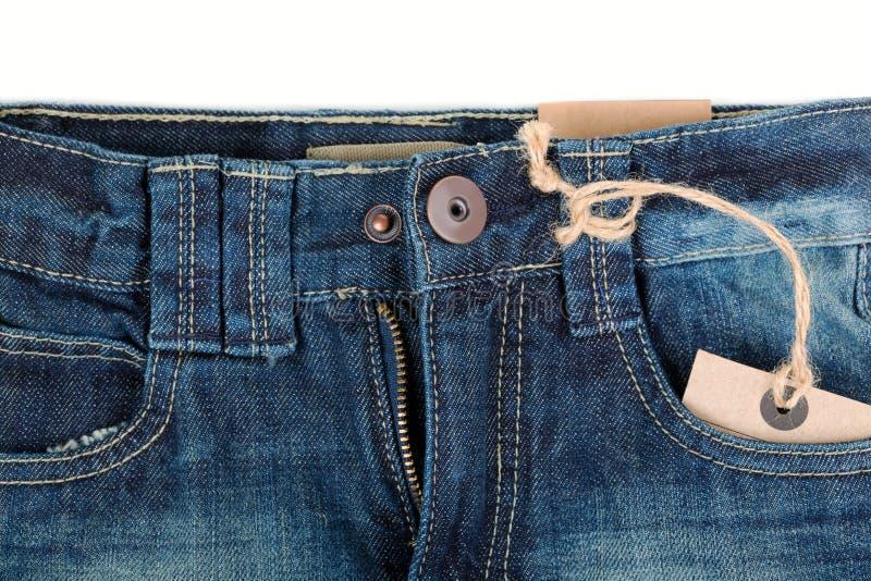 蓝色牛仔裤和飞行 免版税库存照片