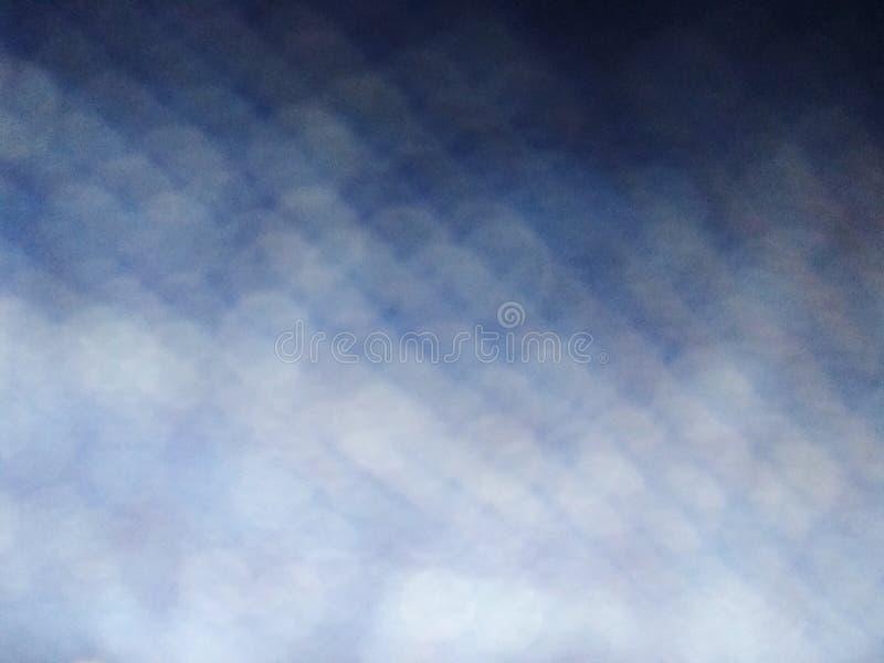 蓝色牛仔裤牛仔布织品抽象纹理背景样式被弄脏的宏观照片 免版税库存照片