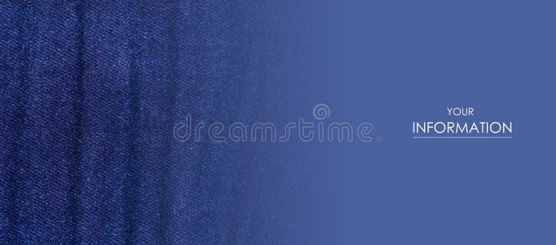 蓝色牛仔裤织品布料材料纹理纺织品宏观样式 库存照片